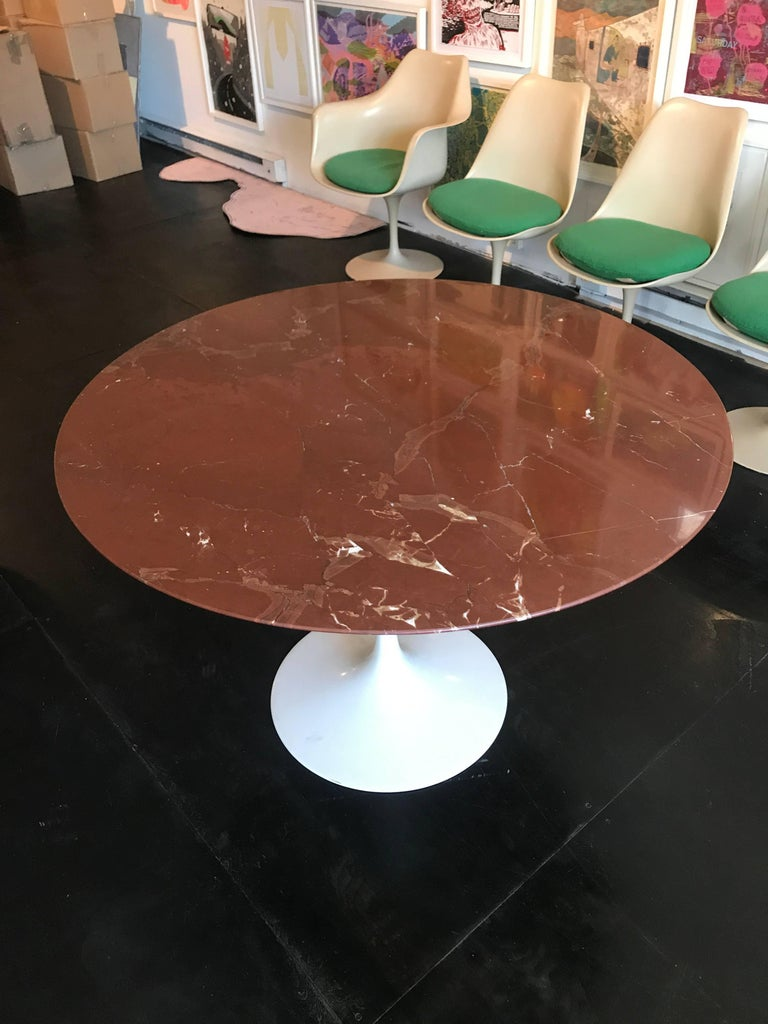 Eero Saarinen Marble Tulip Table Knoll 2