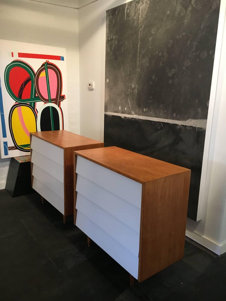 Florence Knoll Pair of Dressers or Chests, 1950 4