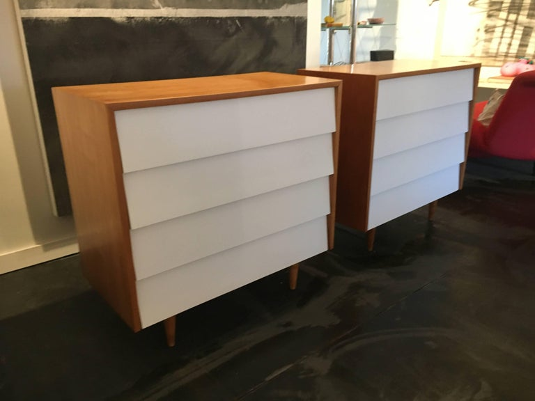 Florence Knoll Pair of Dressers or Chests, 1950 3