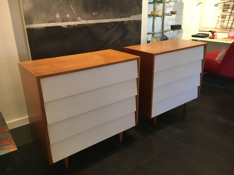 Florence Knoll Pair of Dressers or Chests, 1950 5