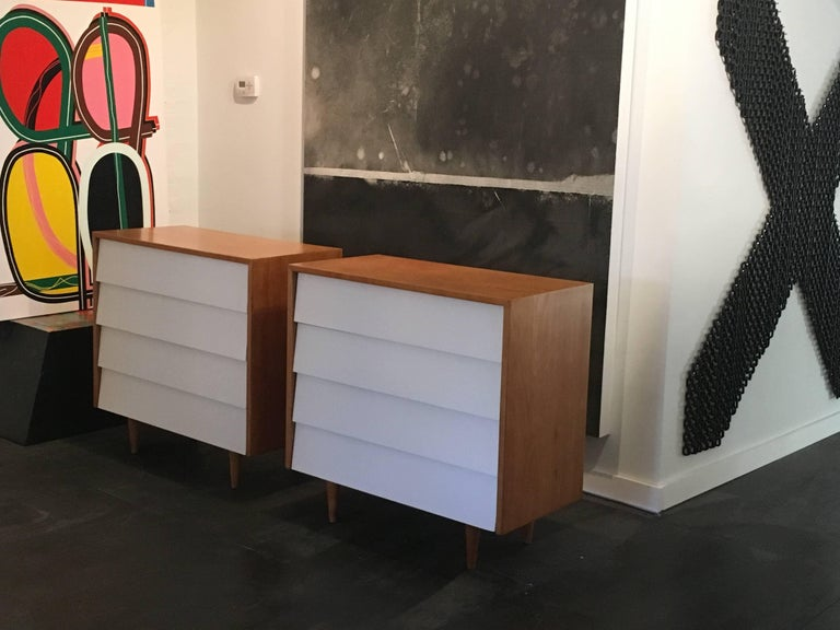 Florence Knoll Pair of Dressers or Chests, 1950 8