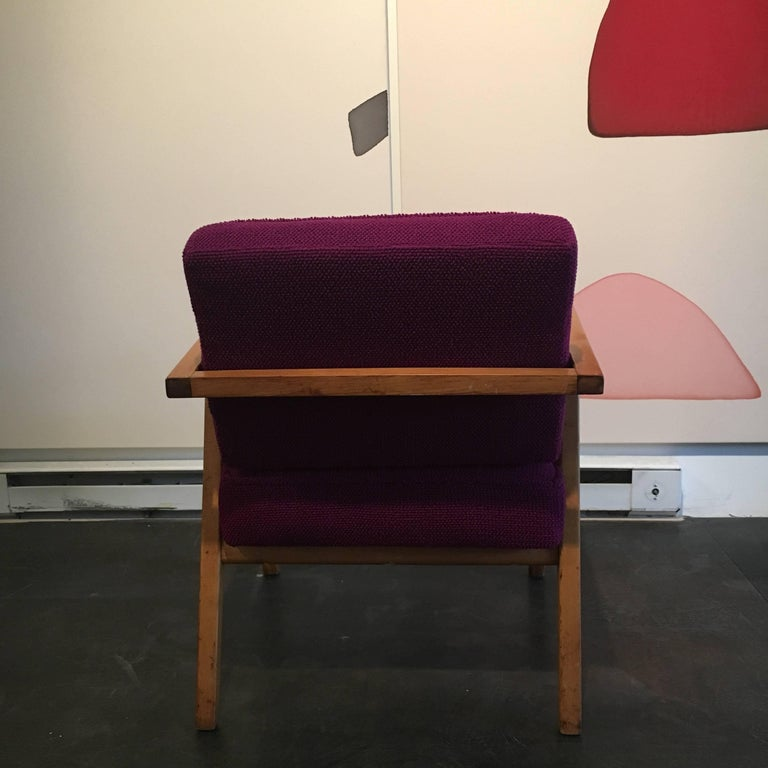 Early Franco Albini Lounge Chair for Knoll In Excellent Condition For Sale In Brooklyn, NY