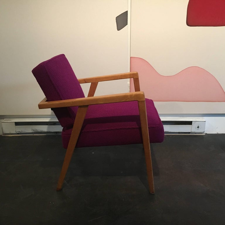 Mid-20th Century Early Franco Albini Lounge Chair for Knoll For Sale