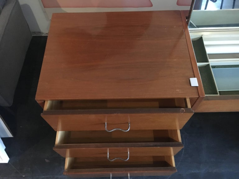 George Nelson Credenza/Dressers with Vanity/Desk Herman Miller, 1950 For Sale 1