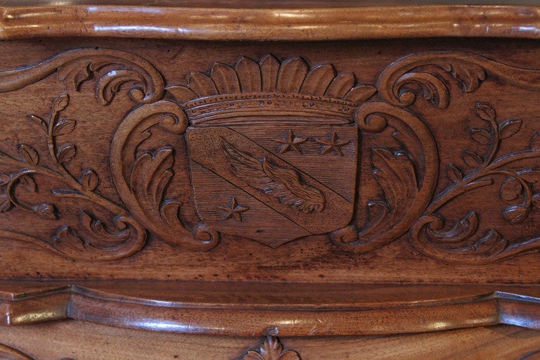 19th Century Walnut Wood Petrin from France For Sale 6