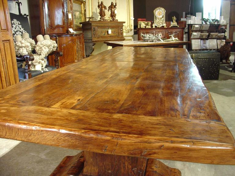 Large Antique Oak Board Dining Table from France at 1stdibs : DSC06185l from www.1stdibs.com size 768 x 576 jpeg 79kB