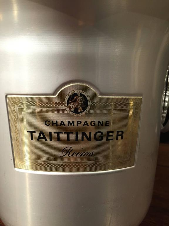 Taittinger Reims Vintage French Champagne Bucket For Sale 1