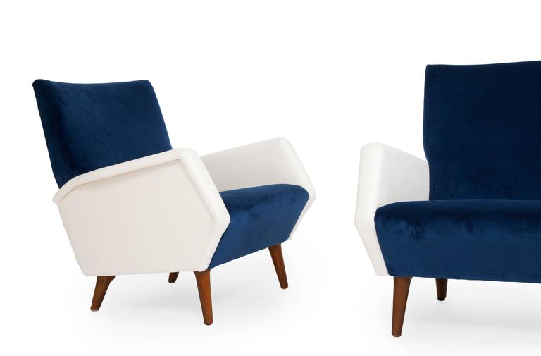 Pair of Armchairs by Gio Ponti 2