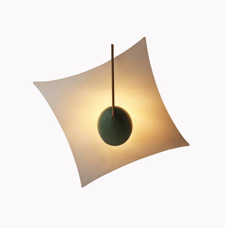 Rare Kite Ceiling Light By Angelo Lelli At 1stdibs