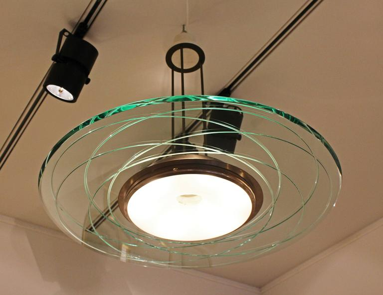 Rare Chandelier by Max Ingrand for Fontana Arte 5