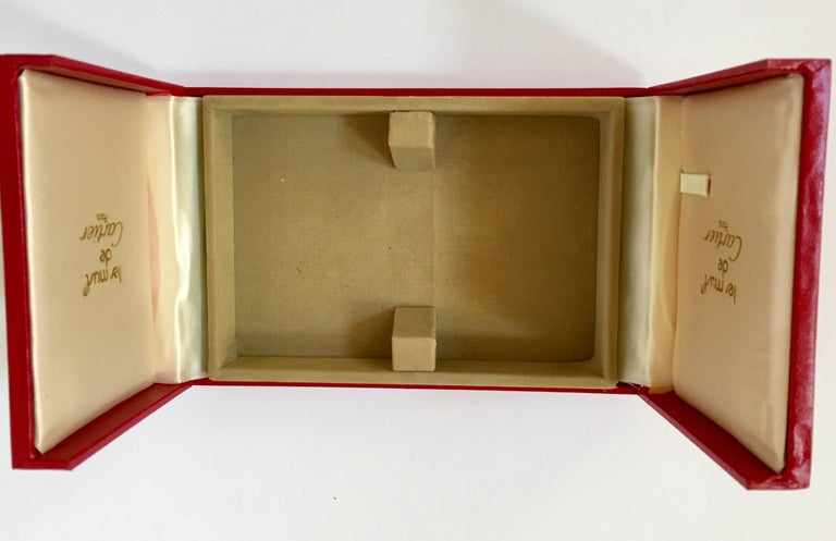 Must de Cartier Paris Vintage Playing Poker or Bridge Cards in Red Box For Sale 8