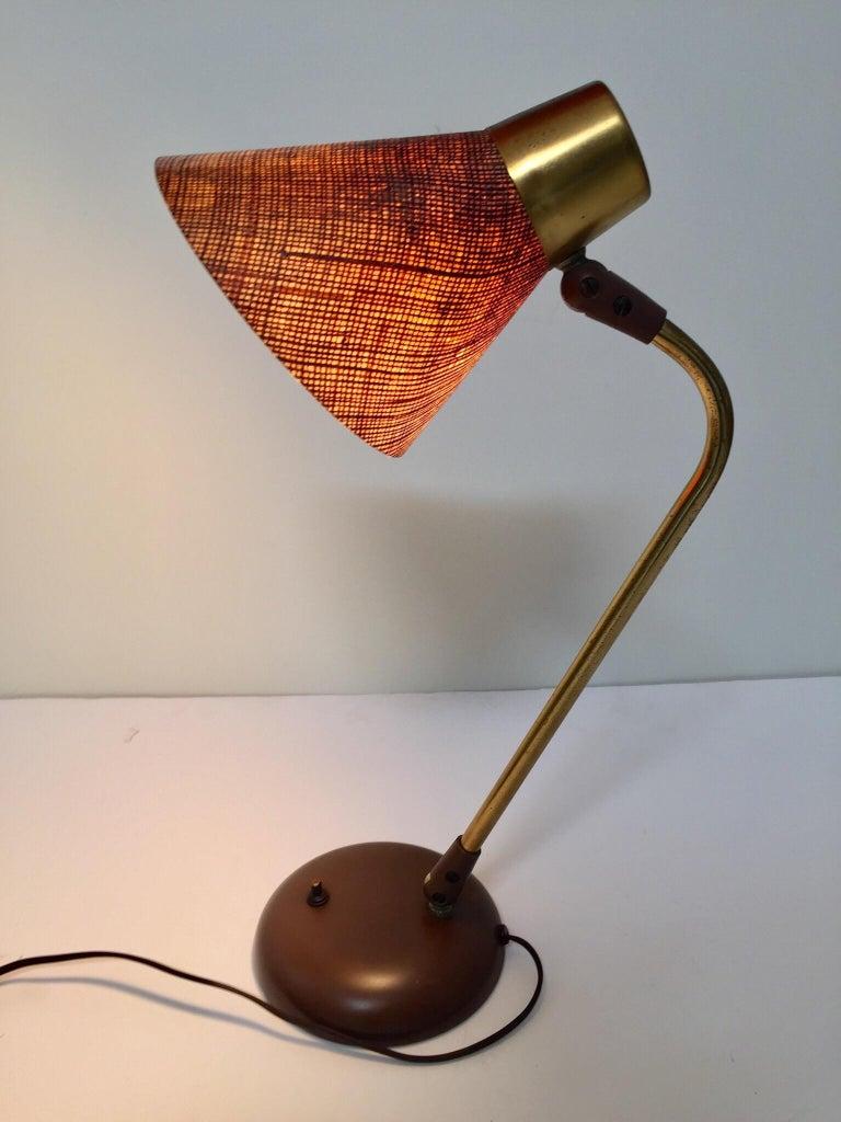 Gerald Thurston Desk Table Lamp for Lightolier, 1950s For Sale 8