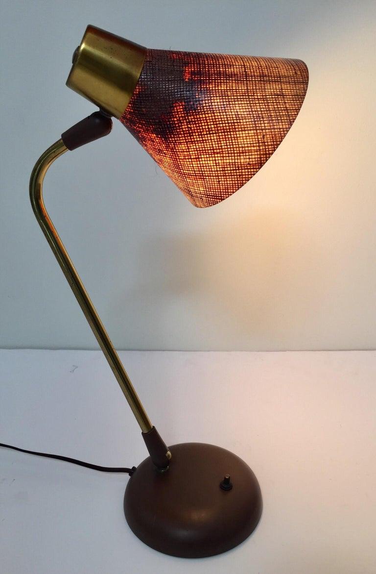 Gerald Thurston Desk Table Lamp for Lightolier, 1950s For Sale 10