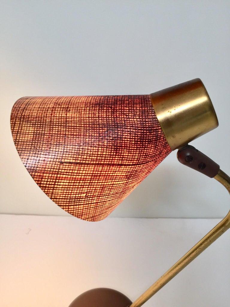 Gerald Thurston Desk Table Lamp for Lightolier, 1950s For Sale 11
