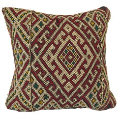 Moroccan Berber Tribal Throw Pillow