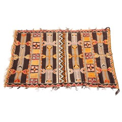 Moroccan Vintage Berber Rug By The Glaoui Tribes of Morocco