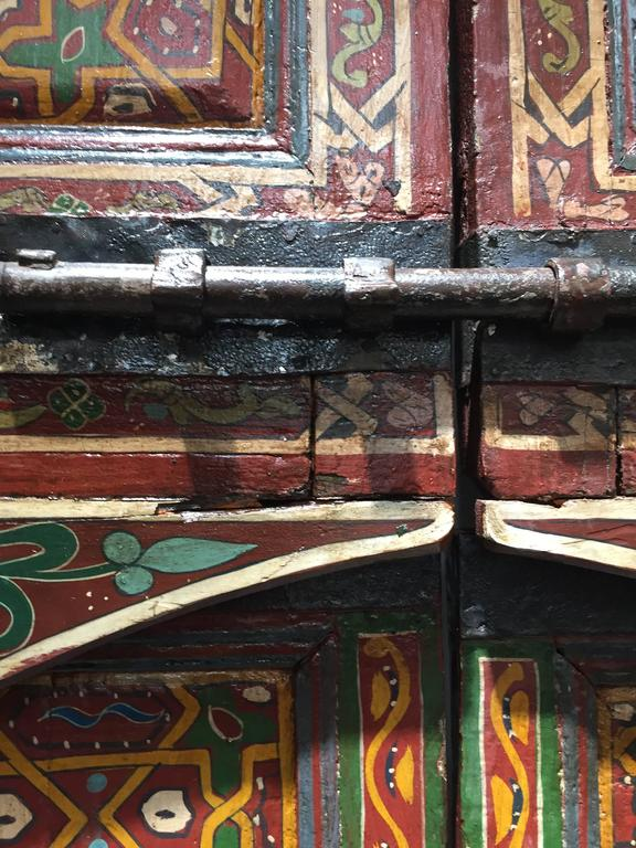 Moroccan Antique Double Door For Sale At 1stdibs