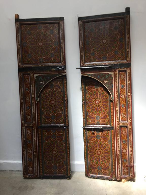 Moroccan Antique Double Door At 1stdibs