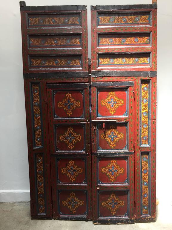Moroccan Antique Double Door At 1stdibs