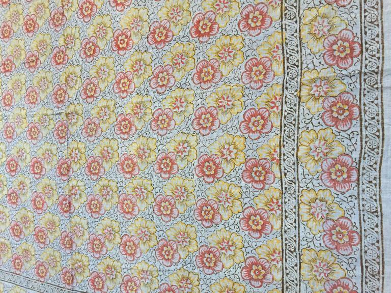 Kalamari Blue Textile from India For Sale 1