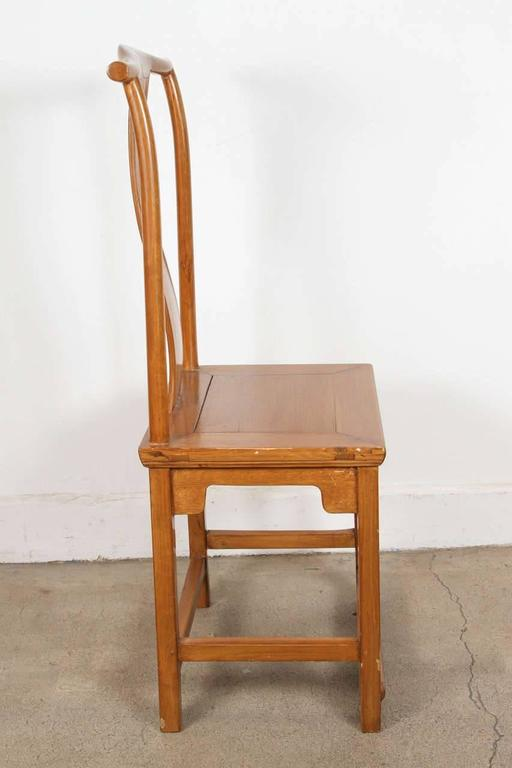 Pair of high back chinese chairs ming style for sale at for Chinese style furniture for sale