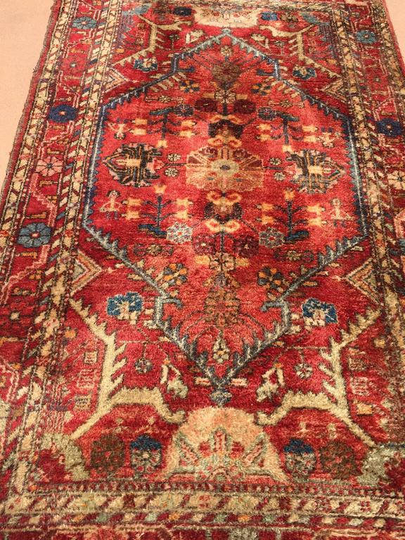 20th Century Hand-Knotted Rug from Turkey For Sale