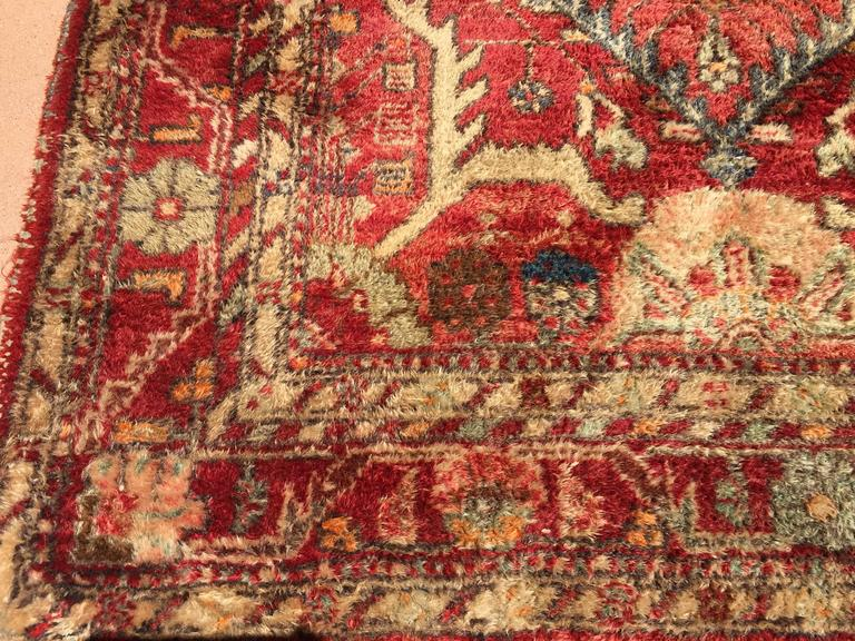 Hand-Knotted Rug from Turkey In Good Condition For Sale In North Hollywood, CA