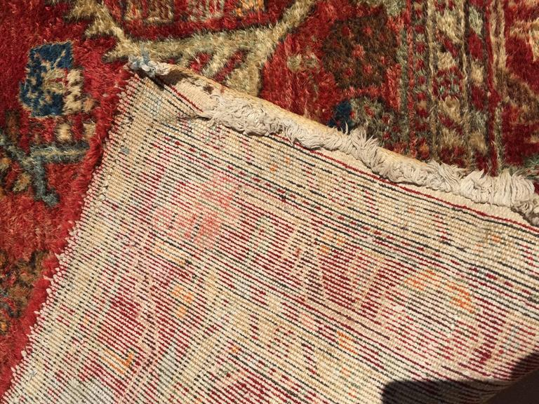 Wool Hand-Knotted Rug from Turkey For Sale