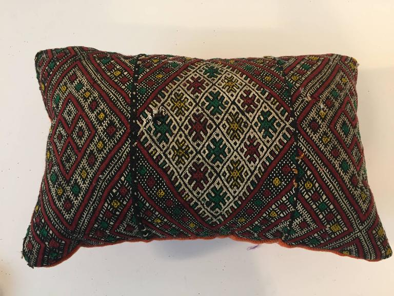 20th Century Moroccan Tribal Throw Pillow For Sale