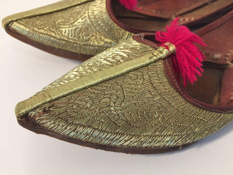 Real Leather Hand Made House Shoes