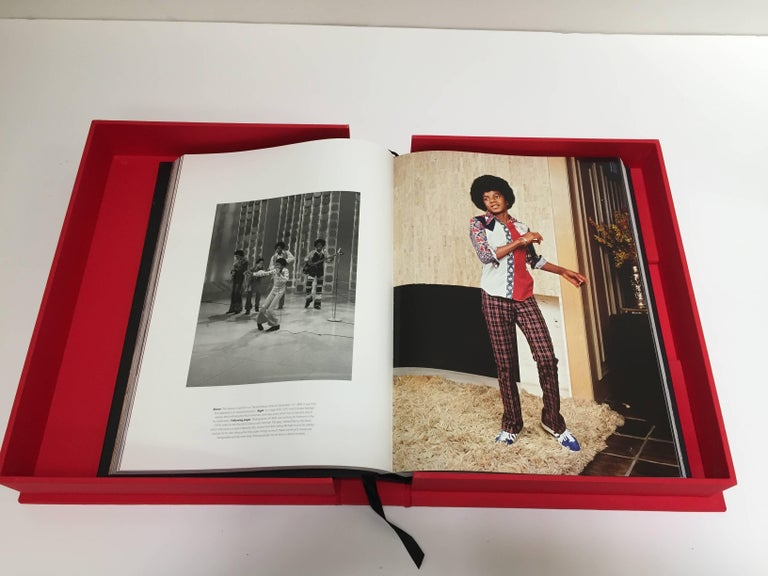 American Michael Jackson Opus Large Collector Table Book For Sale