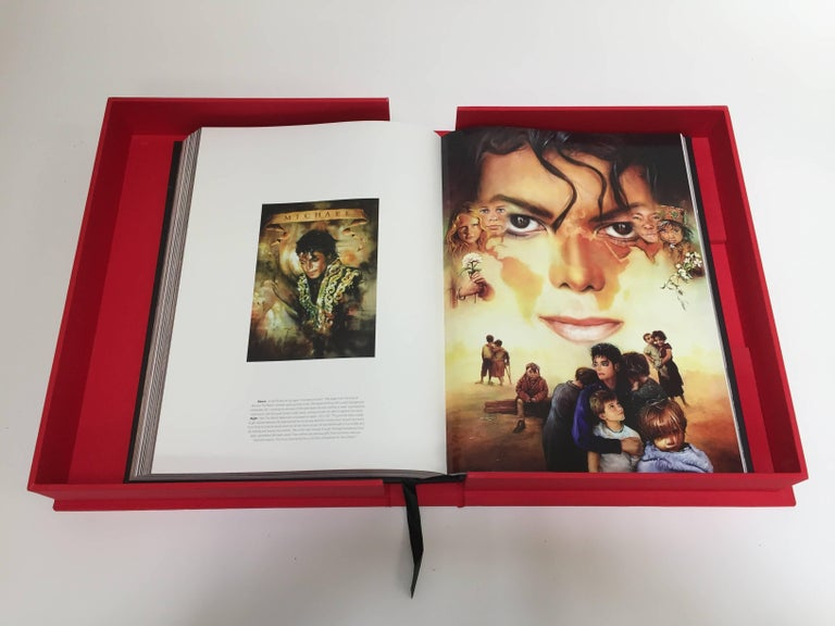 Contemporary Michael Jackson Opus Large Collector Table Book For Sale