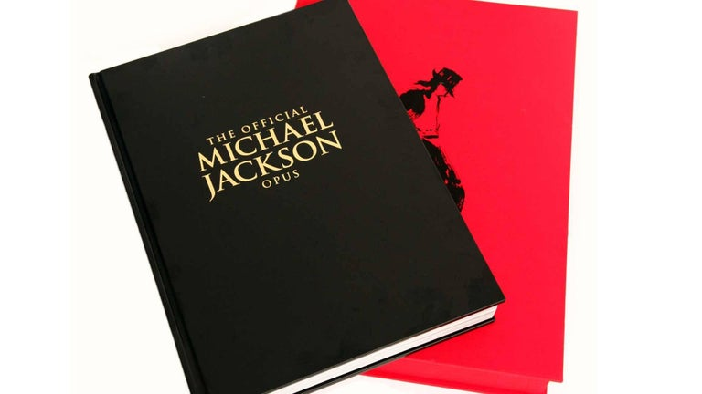 Modern Michael Jackson Opus Large Collector Table Book For Sale