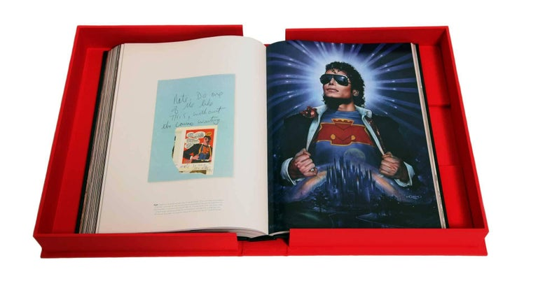 Michael Jackson Opus Large Collector Table Book In Good Condition For Sale In North Hollywood, CA