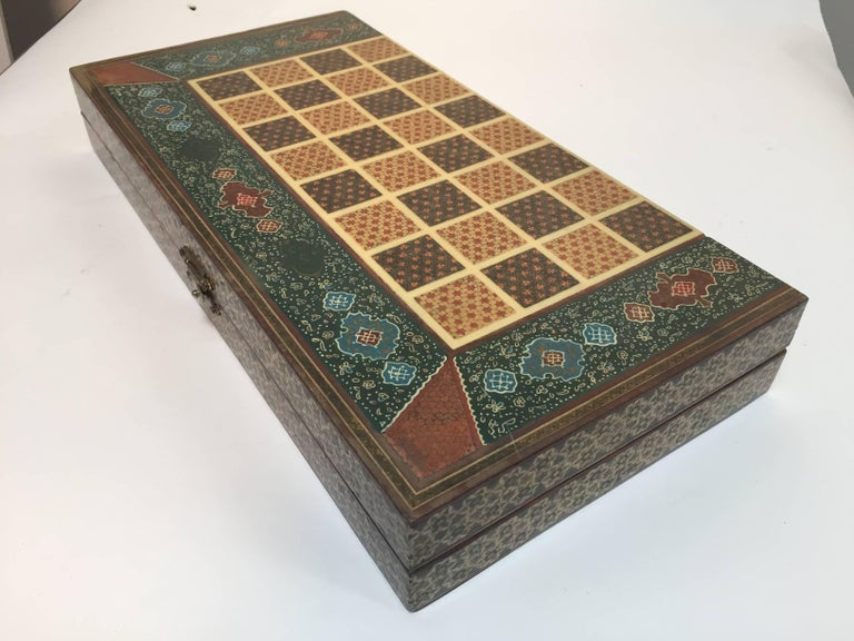 Persian Backgammon and Chess Game Box 5