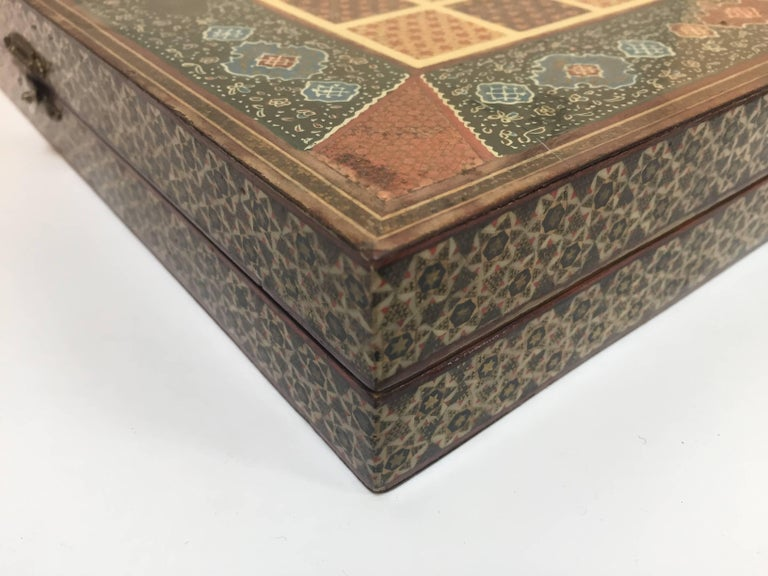 Persian Backgammon and Chess Game Box 6