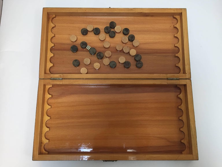 Persian Backgammon and Chess Game Box 9