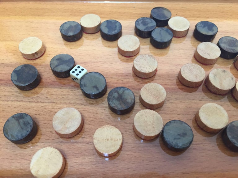 Persian Backgammon and Chess Game Box 10