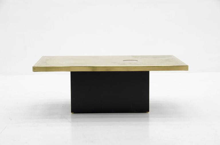 Belgian Coffee Table by Christian Krekels For Sale