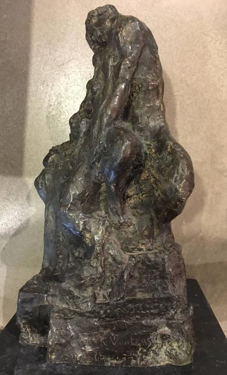 Early 20th Century Bronze Sculpture by Rik Wouters For Sale