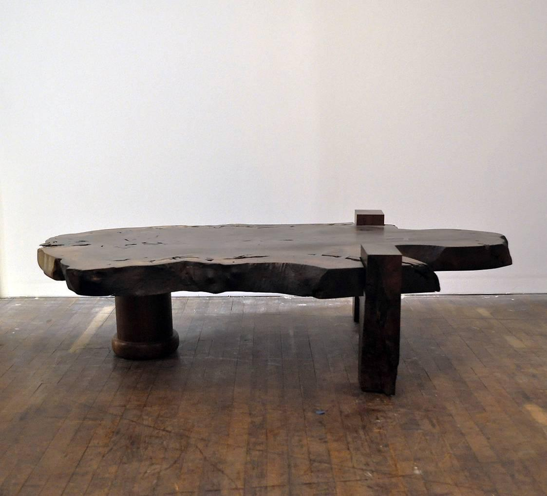 Walnut Slab Coffee Table For Sale At 1stdibs
