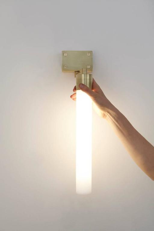 Wall Sconces With Dimmer : Vertical Dimmer Sconce Light at 1stdibs