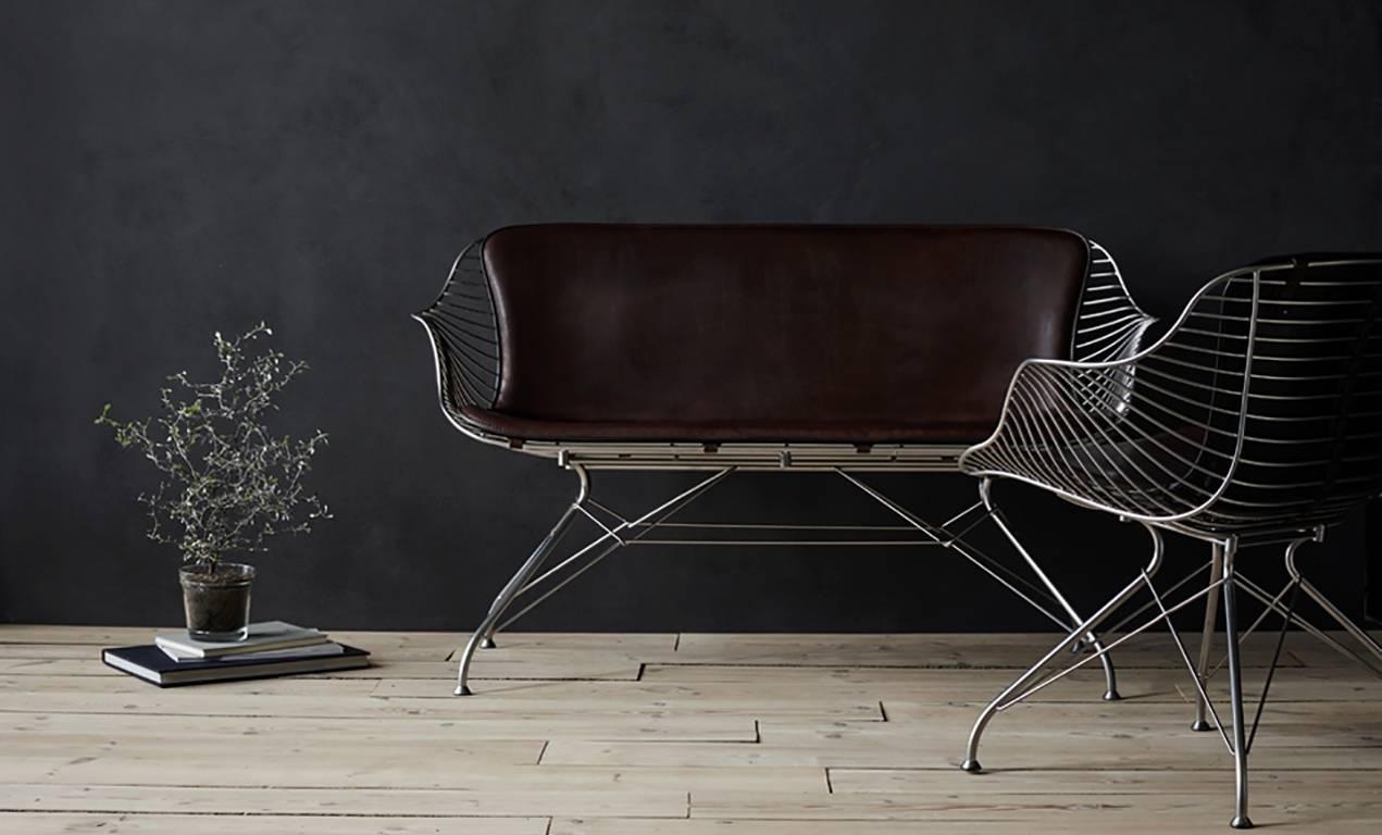 Wire Lounge Chair By Overgaard And Dyrman For Sale At 1stdibs
