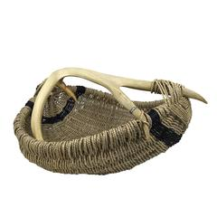 Custom Deer Antler Basket by Dax Savage