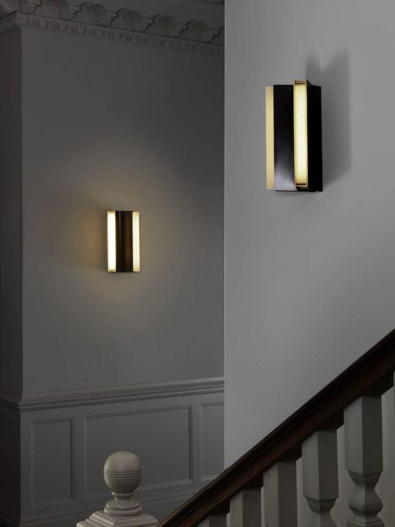 Modern Rayon Wall Light For Sale