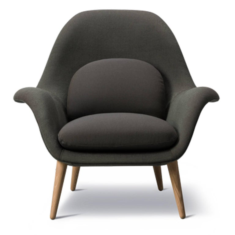 Danish Swoon Chair For Sale