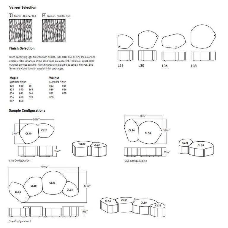 Clue Modular Table For Sale 2