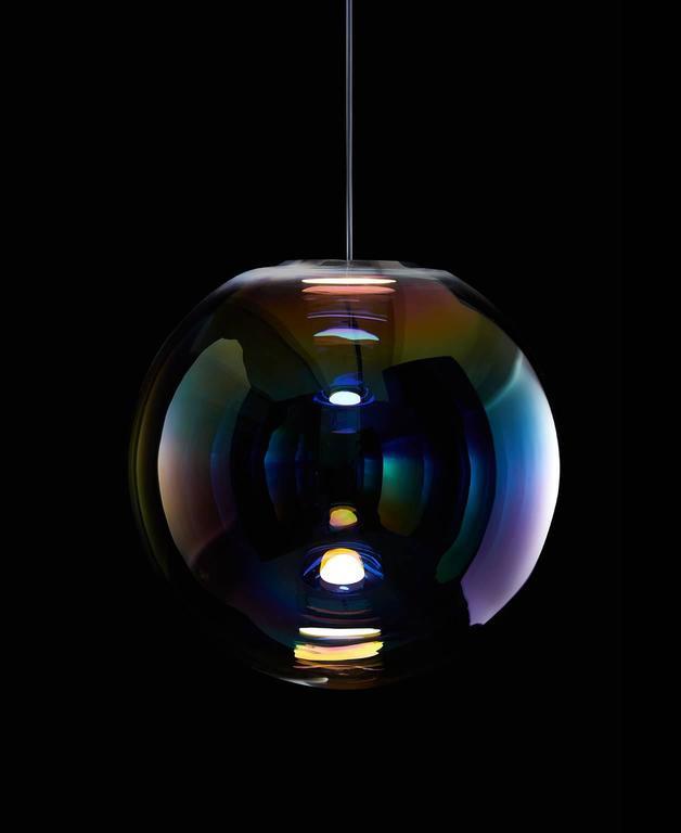 Modern Iris Pendant Light For Sale