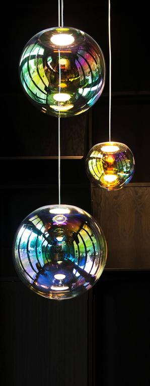 Contemporary Iris Pendant Light For Sale
