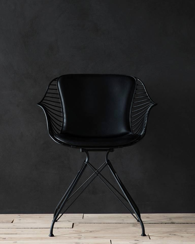 Wire dining chair by overgaard and dyrman for sale at 1stdibs